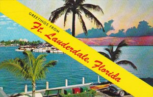 Greetings From Fort Lauderdale Florida 1957