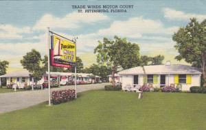 ST. PETERSBURG , Florida , 30-40s; Trade Winds Motor Court