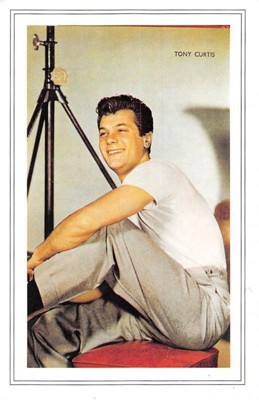 Tony Curtis American film actor, Born 1925 Nostalgia Reprint