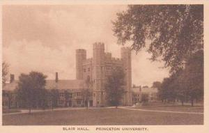 New Jersey Princeton Blair Hall Princeton University Albertype