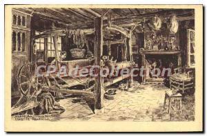 Postcard Old Honfleur Musee Du Vieux Honfleur At The Weaver
