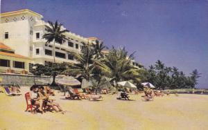 Beach Scene, Tower Isle Hotel, Ocho Rios, JAMAICA, PU-1958