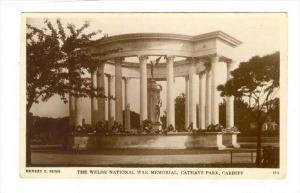 RP  The Welsh National War Memorial, Cathays Park , Cardiff, Wales, UK, 1928