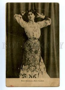 140143 Maria CAVALIERI Italian OPERA Singer vintage PHOTO PC