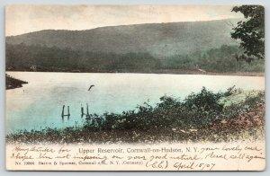 Cornwall-on-Hudson New York~Handcolored Upper Reservoir~1907 Barton & SPooner PC