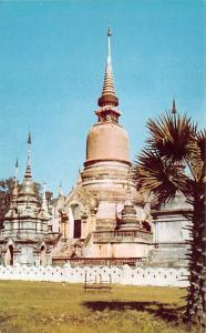 Chiengmai Thailand Relic Pagoda, Wat Suan Dok Chiengmai Relic Pagoda, Wat Sua...