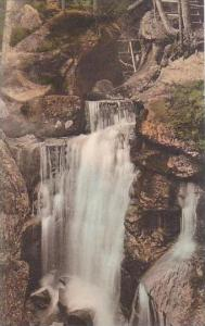 New Hampshire White Mountains Paradise Falls Lost River Albertype
