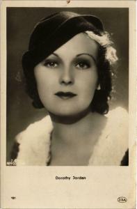 CPA Dorothy Jordan FILM STARS (818647)