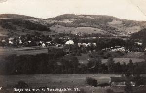 RP: PITTSFIELD, Vermont, PU-1946; Bird's Eye View