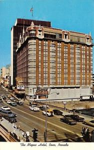 Reno Nevada~The Mapes Hotel~1960s Cars~1971 Postcard