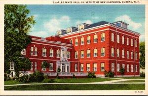 New Hampshire Durham Charles James Hall University Of New Hampshire Curteich