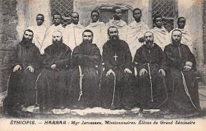 Ethiopia Harrar Mgr Jarosseau Missionnaires, Eleves du Grand Seminaire