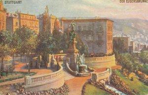 STUTTGART , Germany, 1900-10s ; Der Eugensbrunnen ;  TUCK 166 B