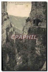 Old Postcard Route Great Narrow Drome precipices