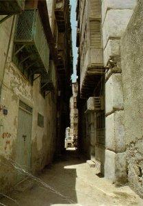 PC CPA SAUDI ARABIA, JEDDAH, ANCIENT BUILDINGS, Modern Postcard (b15868)