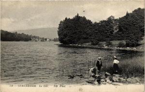 CPA GÉRARDMER le lac (401633)