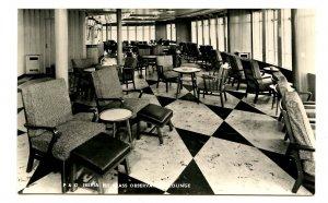 Cunard Line - RMS Caronia, Lounge