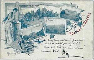VINTAGE POSTCARD:  CZECH REPUBLIC - Ruzyně  1900