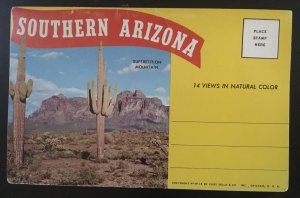 Southern Arizona Fold Out Postcard