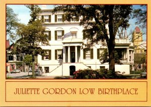 Georgia Savannah Juliette Gordon Low Birthplace Founder Of Girl Scouts Of Ame...