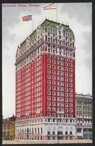 Blackstone Hotel Chicago Illinois Used c1910