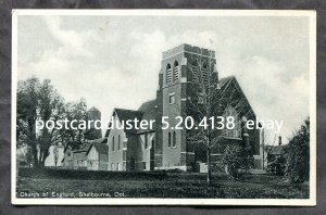 4138 - SHELBURNE Ontario 1920s Church of England. Old Postcard