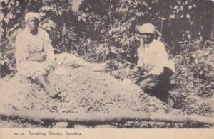 Jamaica Natives Breaking Stones