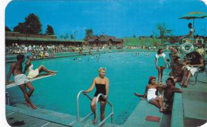 GROSSINGER , New York , 50-60s ; Olympic Size Swimming Pool