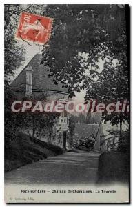 Old Postcard Pacy-sur-Eure Chateau De La Tourelle Chambines