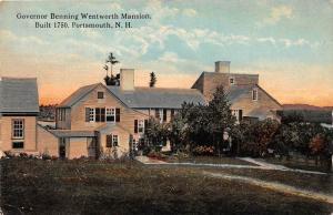 4675 NH  Portsmouth   Governor Benning Wentworth Mansion, Built 1750