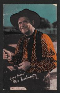 ARCADE CARD Cowboy Entertainer Max Terhune