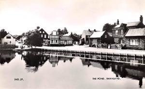 Swanland United Kingdom, Great Britain, England The Pond Swanland The Pond