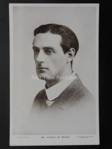 MR ALFRED DE MANBY Actor Music Hall & Theatre Star c1910 RP Postcard by Sydney