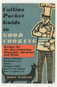Collins Pocket Guide To Good Cooking Robin McDouall Book Postcard