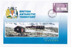 Port Lockroy Research Station British Antarctic Territory Stamp Rare FDC