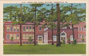 Georgia Thomasville Junior High School Building