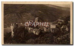 Postcard Old Heidelberg Das Schloos vd Molkenkur aus gesehen
