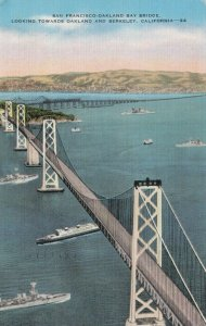CALIFORNIA , 30-40s; San Francisco-Oakland Bay Bridge