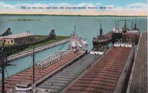 Ohio Toledo One Of The Coal and Iron Ore Loading Docks