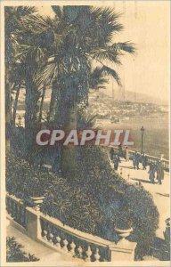 Modern Postcard Port Gentil (Gabon) Preparations for Departure Boat