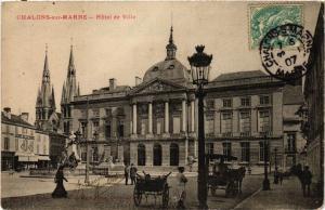 CPA  Chalons-sur-Marne - Hotel de Ville (742851)
