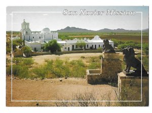 San Xavier Mission Founded 1692 Tucson Arizona 4 by 6