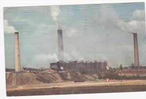 Copper Cliff Smelter of Intenational Nickle Company Limited of Canada, Sudbur...
