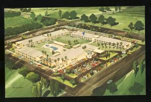 Scottsdale, Arizona/AZ Postcard, Executive House Hotel