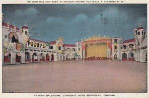 CHICAGO, Illinois, 1940; Aragon Ballroom, Lawrence near Broadway