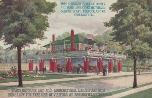 SPRINGFIELD, IL, 1910; Sears, Roebuck & Co.'s Agricultural Exhibit, State Fair