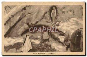 Old Postcard Musee Bernadette Lourdes