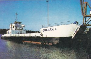 GUAHAN No. 1 , Government of Guam training boat for Mariners , 1940-50s