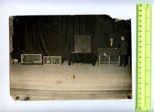 230372 USSR LENINGRAD Circus Ciniselli animals handlers 1920 y