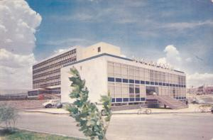 Social Security Building, Classic Cars, CHIHUAHUA, Mexico, 40-60's